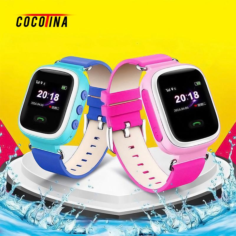 COCOTINA Children Smart Watch Practical Smart Phone Watch Kids Anti lost Smart Watch GPS Tracker For
