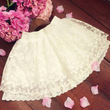 UPPIN белый кружево юбки для женщин для бальное платье обувь девочек юбка пачка s Дамы Мини Короткие с высокой талией эластичная юбка faldas jupe