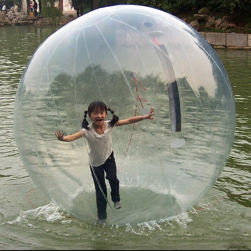 Free Shipping Inflatable Human Hamster Ball For Pool/Lake 2M Dia Water Balloon/Water Zorb Ball Import Zipper Water Walking Ball