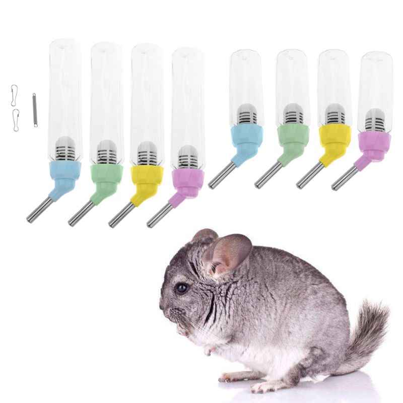 Small Animal Transparent Automatic Hamster Water Bottle