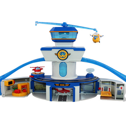 Newest 2018 Super Wings World Airport with Planes Action Figures toy super wing Transformation toys for for Childrens Gifts
