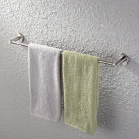 KES Towel Bar Towel Holder For Bathroom Brushed 22 3 8 Inch Wall Mount SUS 304