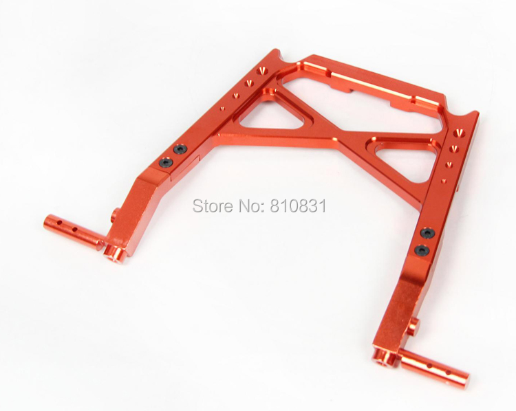 CNC Central Roll Cage Support for1/5 HPI baja 5b KM ROVAN cnc metal front elevation shield for1 5 hpi baja 5b km rovan