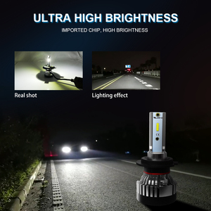 Image 3 - Roadsun פנס LED הנורה H4 Led H7 פנס אור CSP שבב H11 רכב 9005 9006 HB4 10000LM 12V 24V רכב אוטומטי מנורות