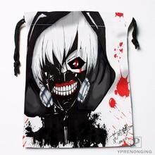 Custom Tokyo Ghoul Drawstring Bags Travel Storage Mini Pouch Swim Hiking Toy Bag Size 18x22cm#0412-11-110