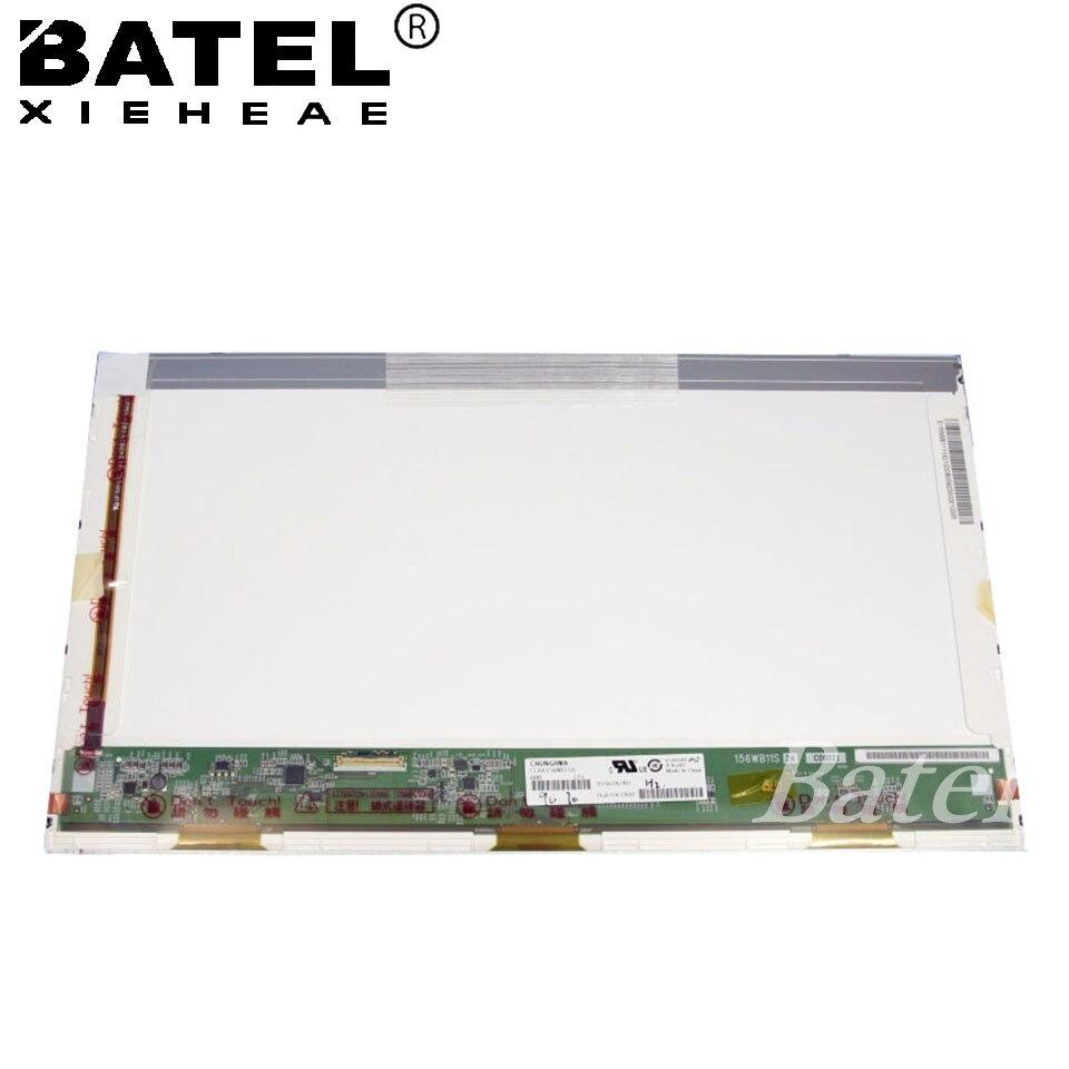 цена 15.6 inch Laptop LCD  Screen CLAA156WB11A CLAA156WB 11A  1366X768 HD LVDS 40Pin Glare онлайн в 2017 году