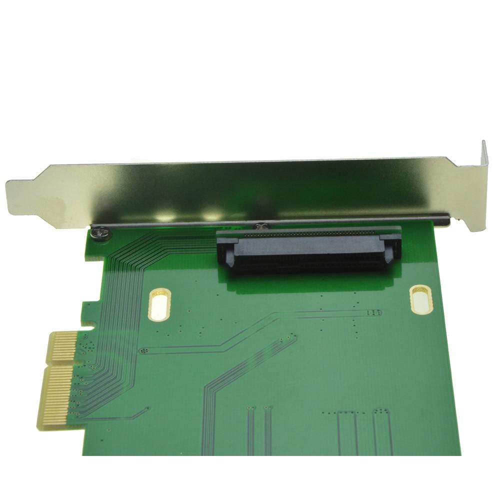 PCI-E 3.0 x4 Lane naar U.2 Kit SFF-8639 Adapter voor Intel Moederbord - Computer componenten - Foto 5