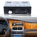 Автомобиль Радио Стерео Аудио Mp3-плеер 12 В В тире Одноместный 1 Дин FM приемник Aux Приемник Поддержка USB/SD/MMC Карт Дистанционного Управления