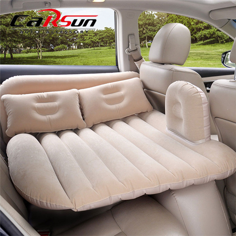 140*88CM Car Bed Car Mattress PVC Back Seat Cover Car Air Mattress For Children Travel Bed For SUV Inflatable Mattress For Auto image