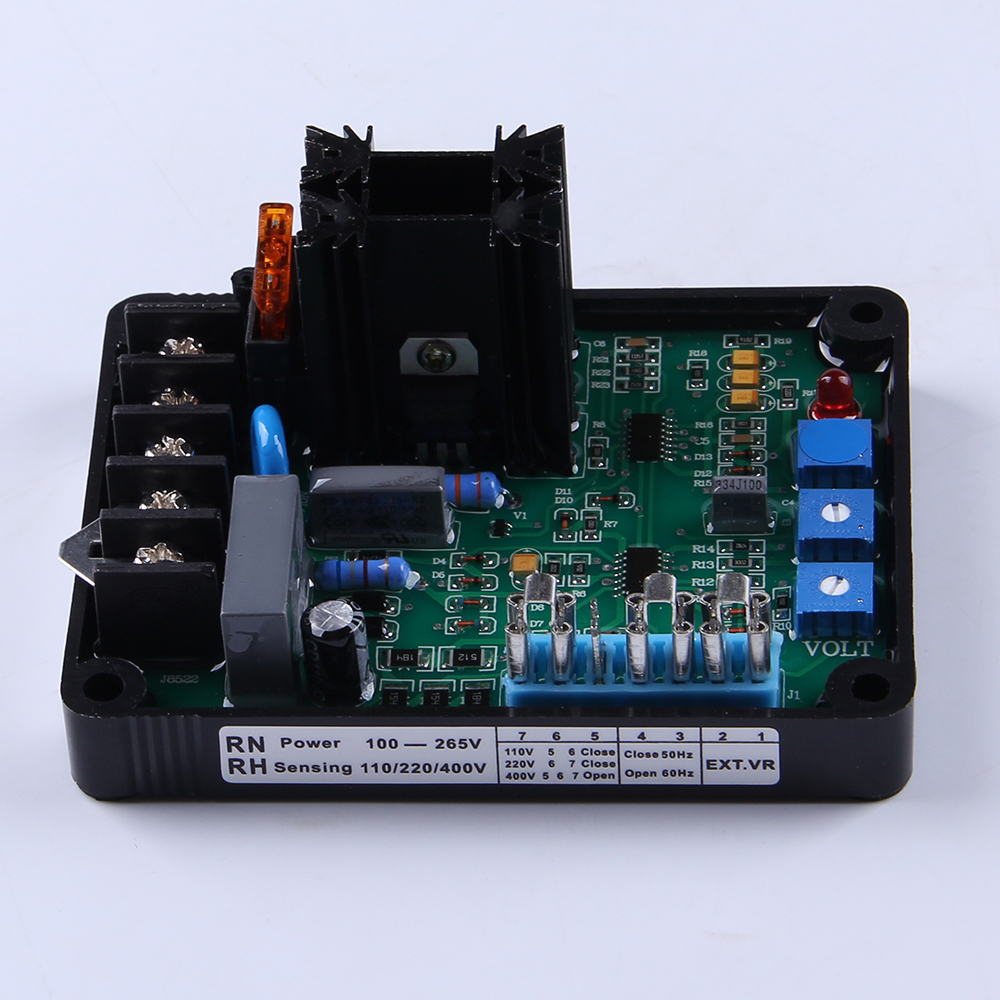 Universal Brushless Generator Set Automatic Voltage Regulator gavr 8A avr para el generador diesel alternator Spare parts