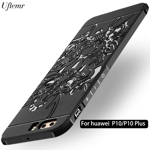 save off 4acdb 3547c US $7.0 |Uftemr Phone Case for Huawei P10 Plus cover Frosted 3D Dragon  Armor Silicone back cover case for Huawei P10 phone Coque capa-in Flip  Cases ...