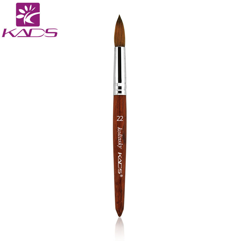 KADS 100% Size 22# Painting Pen Acrylic Brush For Nail Art Brush Amazing Painting Tool Brushes For Painting DIY Nail Art Design 5pcs nail art tool dotting painting transparent plastic marbleizing pen for beauty