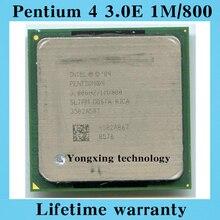 Пожизненная гарантия Pentium 4 3.0E 1 м 800 3.0 ГГц P4 3.0 настольных процессоров пк процессорный сокет 478 контакт. компьютер