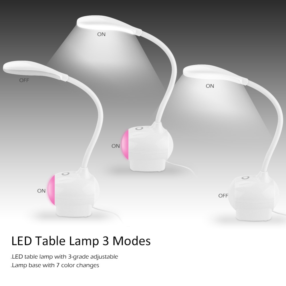 High Quality New LED Table Lamp Smart Touch Sensor ...