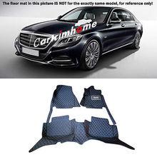 Left Hand Drive! Car Floor Mat Pad 1set For Mercedes Benz S Class W222 2014-2015