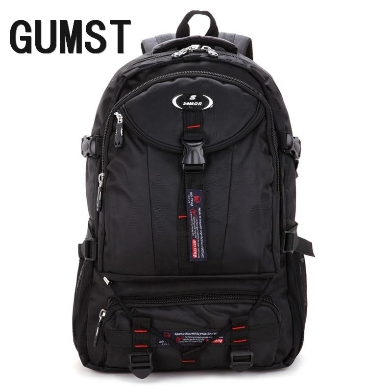 d3bdc886d2559 الذكور على ظهره الطلاب قدرة كبيرة حقيبة الظهر للرجال حقيبة لابتوب عالية  الجودة السفر حقيبة على ظهره
