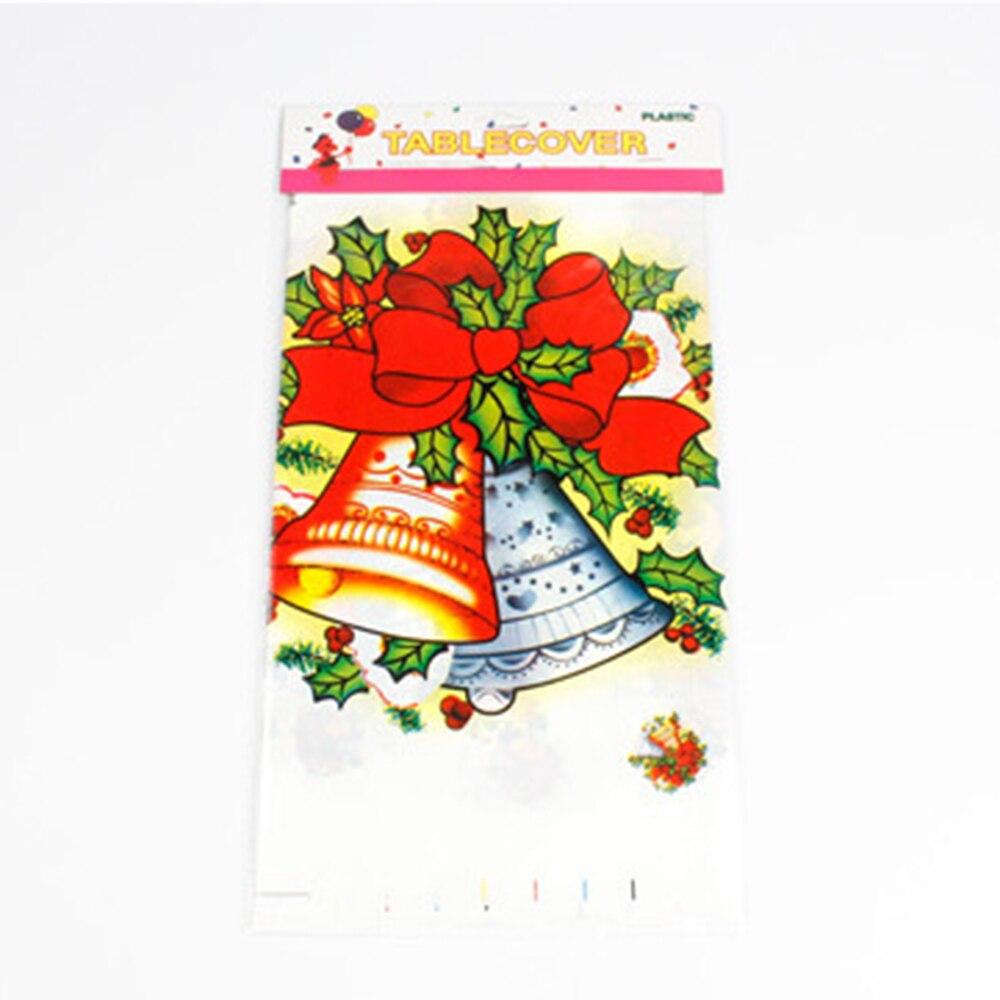 christmas decor pvc table cloth rectangular tablecloth flowers