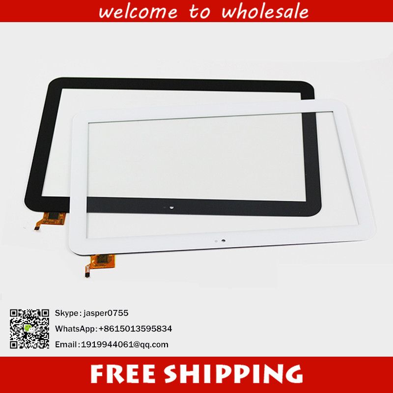 White New 10.1inch Touch screen PiPO Max-M9 16GB 3G touch replacement glass panel for free shipping