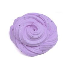 New Scented Glitter Fluffy Floam Slime Stress Relief Toy Kids Gift Modeling Clay(China)