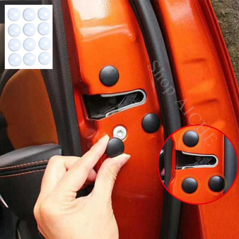 12 pc car door lock screw protector cover accessories for isuzu