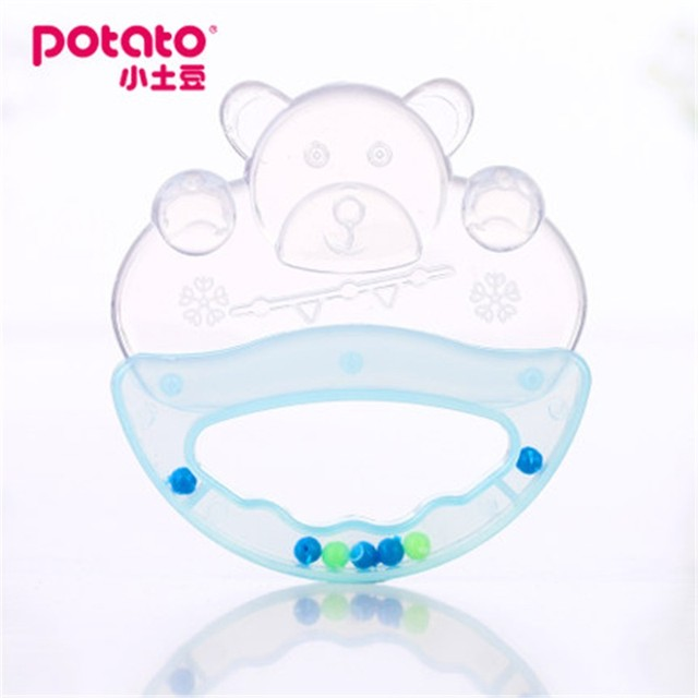 Silicone Baby Water Teether Cute Toddler Molar Toothbrush Infant ...