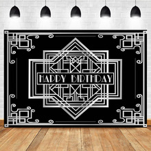 Get more info on the NeoBack Photography Backdrops Gatsby Birthday Party Silver Custom Wedding Background Photography Backdrops Studio Shoots