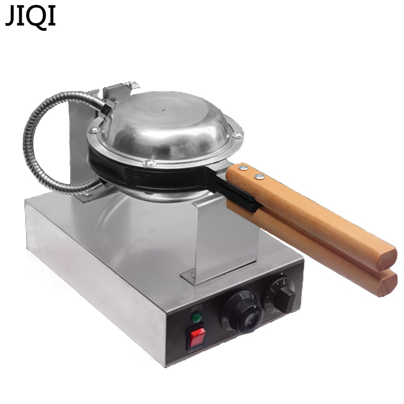 JIQI 220V/110V Commercial electric Chinese Hong Kong eggettes puff egg waffle iron maker machine bubble egg cake oven EU US UK настенный светодиодный светильник nowodvorski fraser 6945