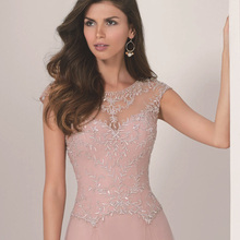 Sexy See Through Special Occasion Formal Gowns Beading Embroidery Tulle font b Evening b font font