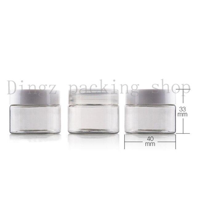 0dda377ef0dc 50pc/lot) 20g/30g empty clear cream Jar cosmetic Container 20cc 30cc ...