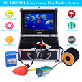 KKmoon Super Cool 30M 1200TVL Underwater Fishing Camera with 7in LCD Monitor Fish Finder 12pcs Led Lamps HD Fishing Camera