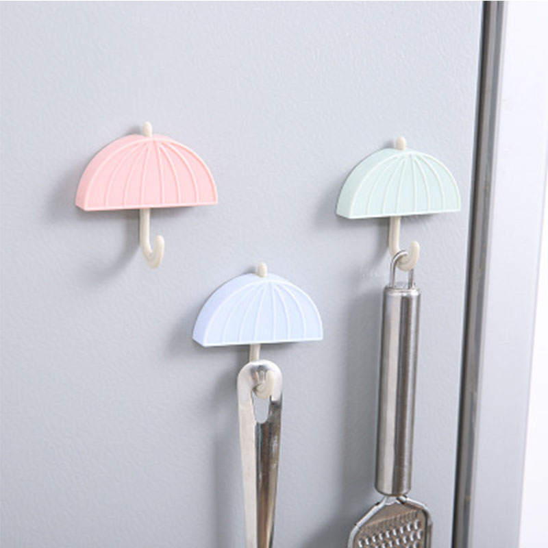 Creative Kitchen Seamless Magnet Hook And Multi-Function Home Bedroom Magnet Stone Refrigerator Magnetic Umbrella Storage Hook