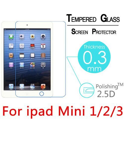 Für Ipad Mini 1 2 3 Hd Klar Glas Screen Protector Transparent Gehärtetem Schutz Für Ipad Mini 1/2/3 Gehärtetem Glas Film Kunden Zuerst Tablet-display-schutzfolien