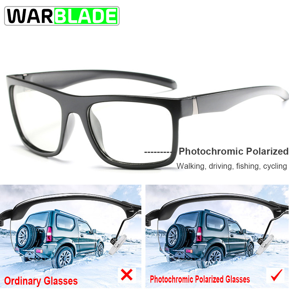 Photochromic Polarized Men Outdoor Sports Cycling Glasses Bike Goggles Sunglasses Cycling Eyewear gafas oculos ciclismo