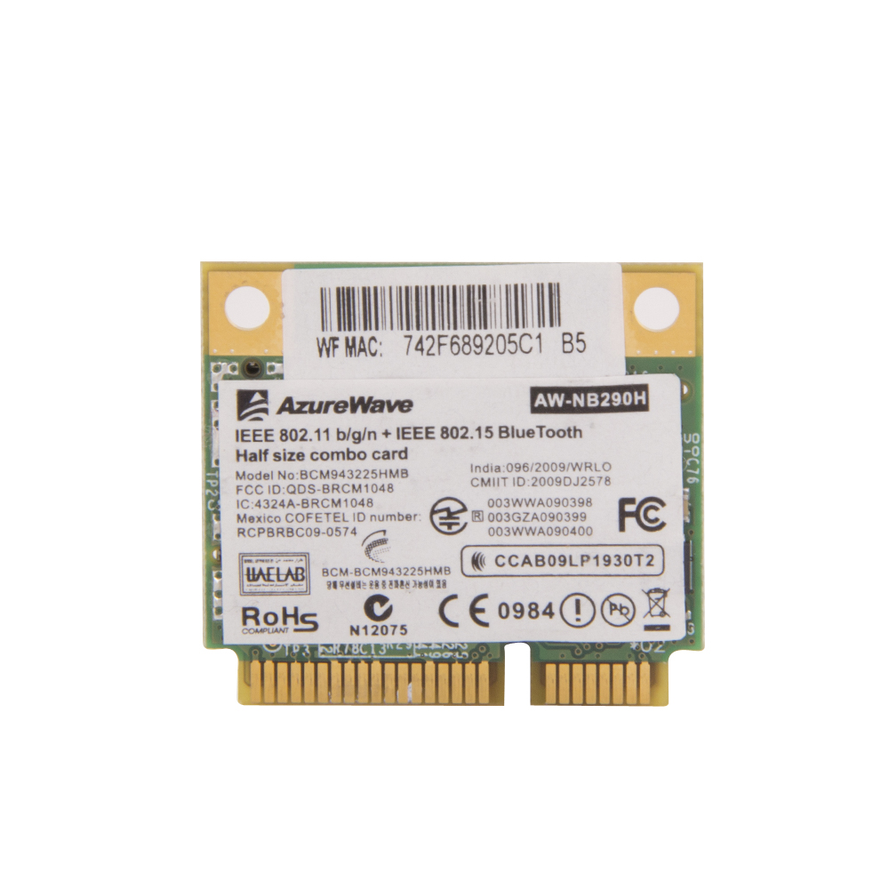 ▻Ssea nuevo para Broadcom BCM43225HMB BCM43225 medio mini pci-e ...