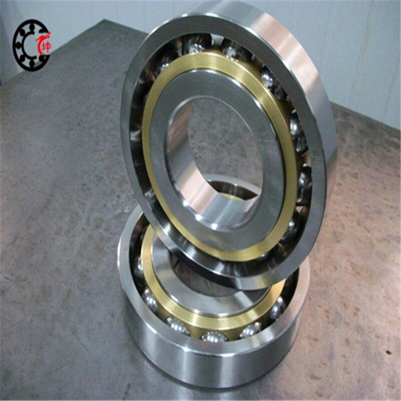 Original High-speed angular contact ball bearings 7219 C P4 95*170*32 Contact angle C:15  AC:25