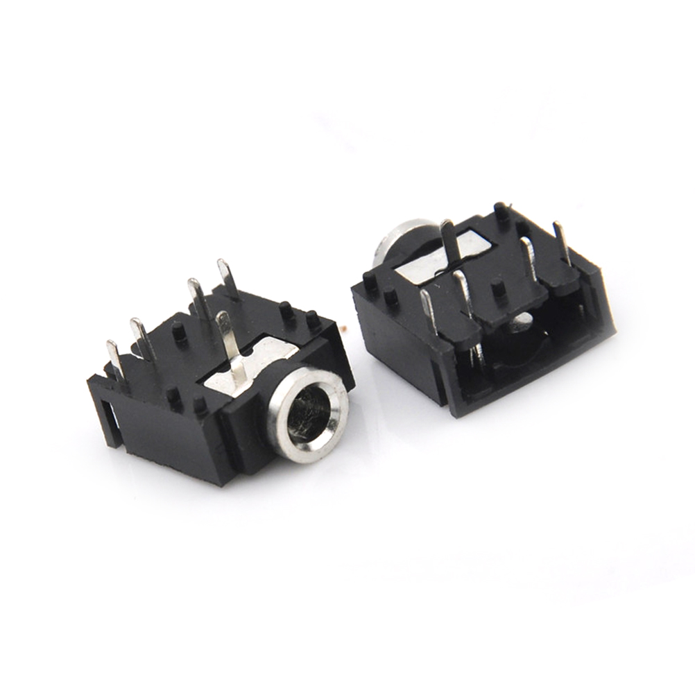 """10PCS 3.5mm 1/8"""" Female Audio Connector 3Pin Stereo Headphone Jack PCB Mount Wholesale"""
