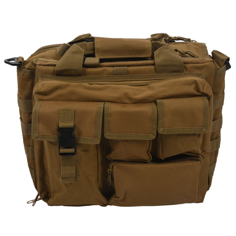 Pro- Multifunction Mens Military  Outdoor Nylon Shoulder Messenger Bag Handbags Briefcase Large Enough For 14