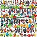 Экшн-фигурки Plants Vs Zombies  игрушки + фигурки зомби  ПВХ  игрушки для детей  подарок  88 стилей