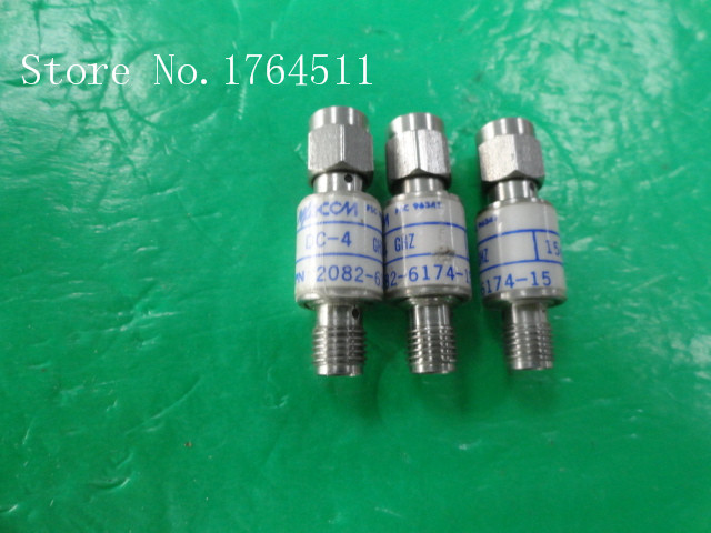 [BELLA] M/A-COM 2082-6174-15 DC-4GHz 15dB 2W RF Coaxial Fixed Attenuator SMA  --5PCS/LOT