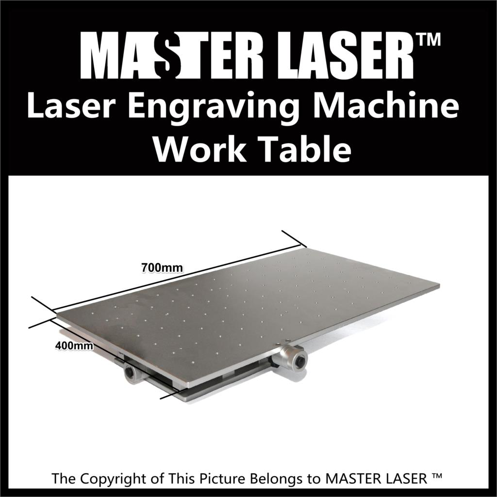 Laser Marking Engraving Machine  2 Axis Moving Table 700*400mm Working Size Portable Cabinet Case XY AXIS Table