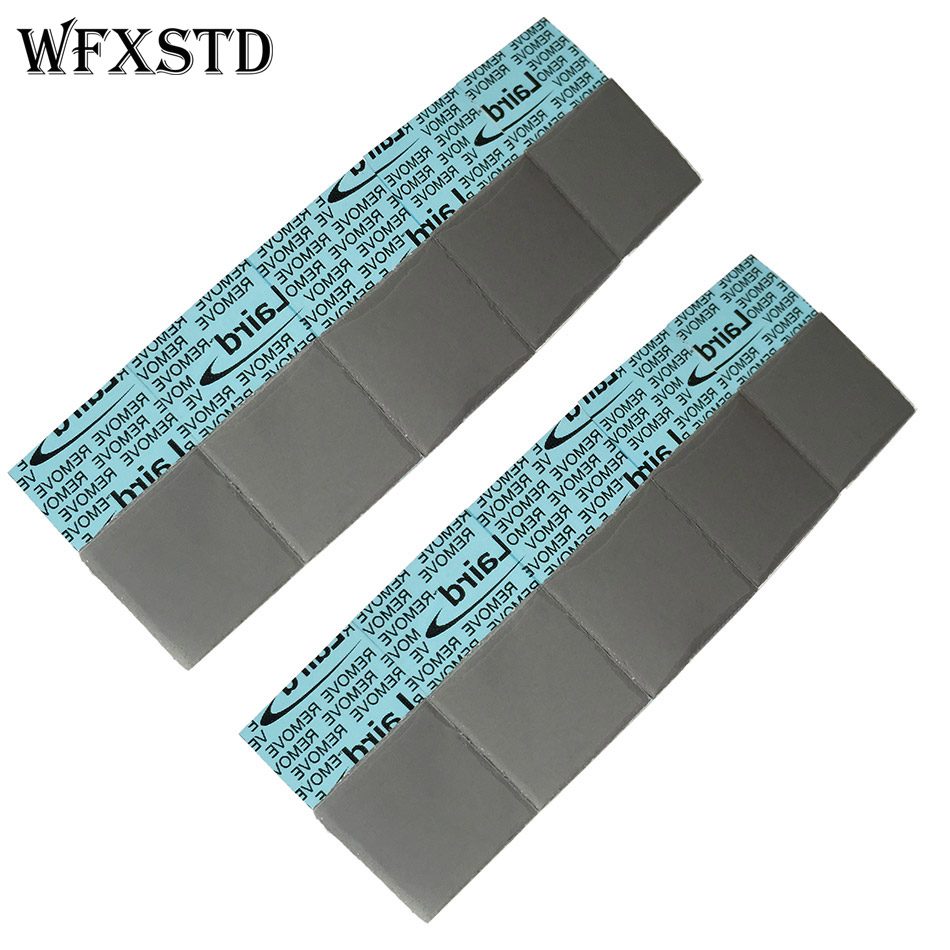 100Pcs 1mm Silicon Thermal Pad For LAIRD notebook graphics memory Beiqiao thermal silica thermal pad flex740 thermal pad 2901109500 thermal