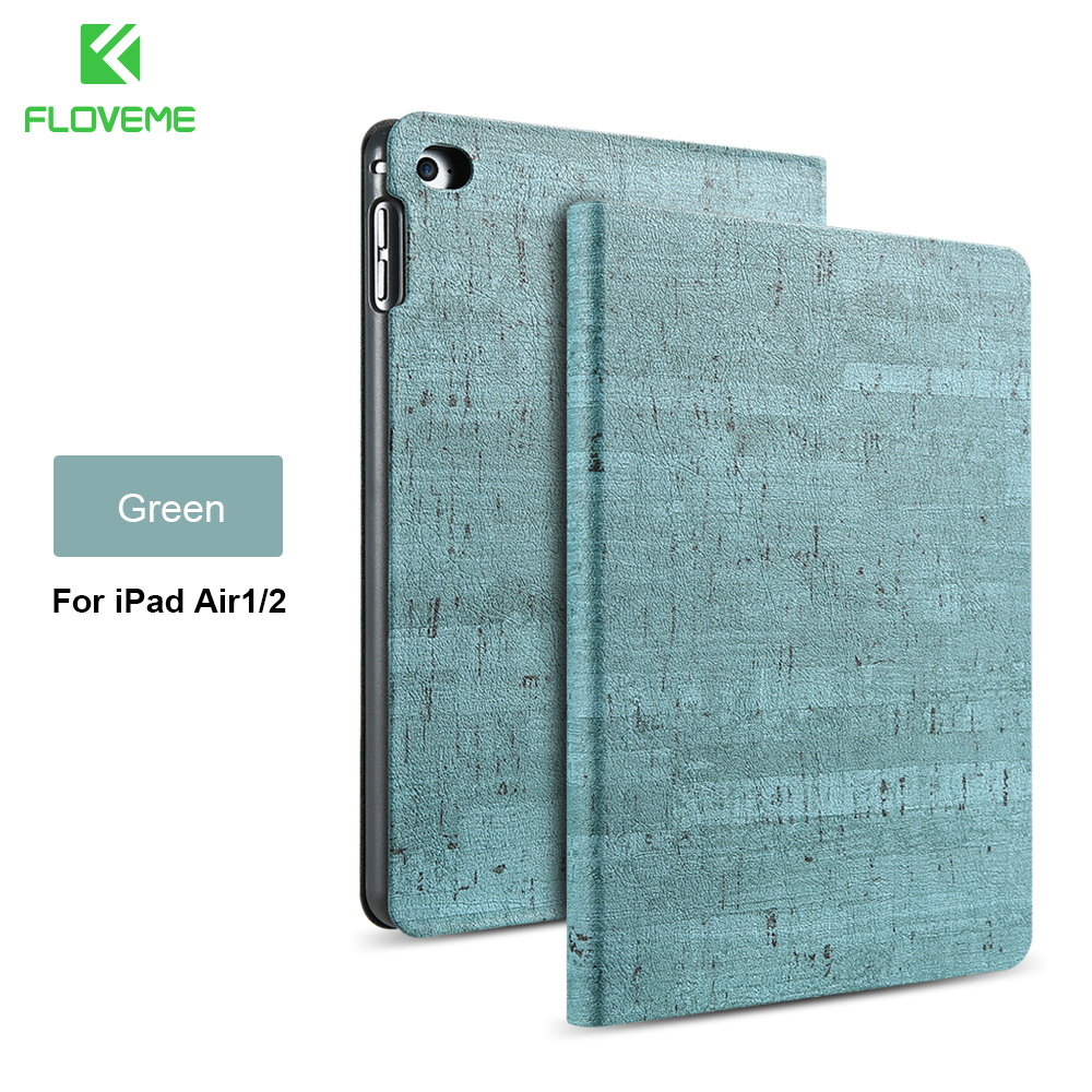 FLOVEME Rocky Stylish Protective Case for iPad Air 2 1 for iPad 5 6 Smart Sleep Wake Full Coverage Stand Cover for iPad Air 2 1