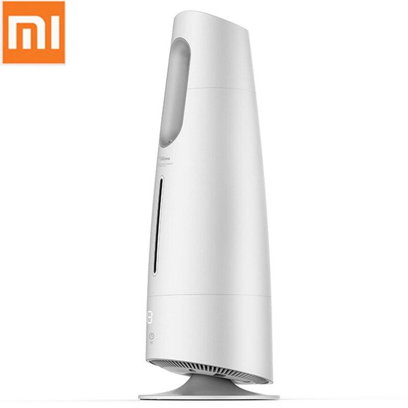 Оригинальный Xiaomi DEERMA 4L увлажнитель воздуха туман чайник сенсорный экран масляный диффузор воздуха очищающий воздух кондиционер для дома, к...