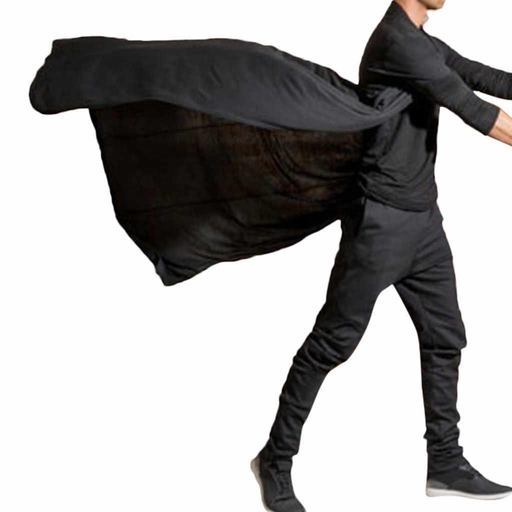 Novos Homens do Revestimento de Trincheira dos homens Cardigans Casuais Sólida Fino Longo Manga do Casaco Outerwear Plus Size Casaco Longo Outerwear Mais tamanho z0717