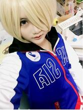 2017Yuri on Ice Cosplay Costume Clothing Men Women Japanese Yuri!!! Yuri Plisetsky Carnaval Halloween Anime Hoodie Jacket