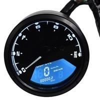 2018 12000 RMP kmh/mph Universal LCD Digital Odometer Speedometer Tachometer Gear indicator Motorcycle Scooter Golf Carts ATV