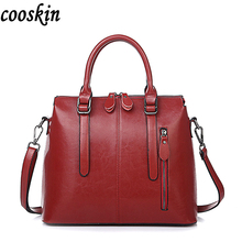 2017 Leather Bags For Women Famous Brand Shoulder Bags Solid Designer Handbag High Quality Ladies Women Big Female Tote