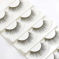 5 Pairs Fashion Cute Natural Long Women Ladies 1.2 CM Eye Lashes Handmade Thick Fake False Eyelashes Makeup Tool Beauty [category]