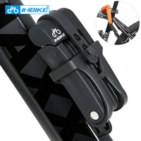 INBIKE Anti shear of 12 ton Hydraulic Cutter Cycling MTB Bike Lock Anti theft Motorcycle Lock Electric Bicycle Part Chain Lock