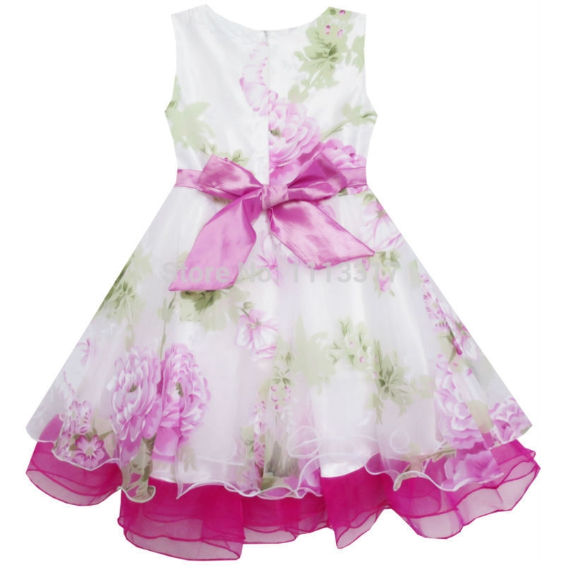 Τα κορίτσια φόρεμα νυφικό φόρεμα με - Παιδικά ενδύματα - Φωτογραφία 6